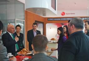 Среща с блогъри в новооткрития филиал на бъдещето на УниКредит Булбанк